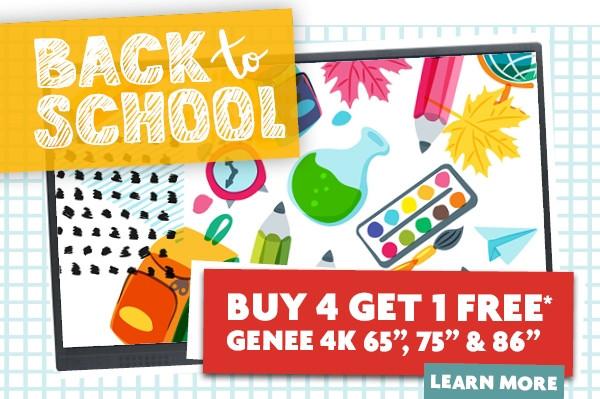 Amazing Genee Back To School Offer