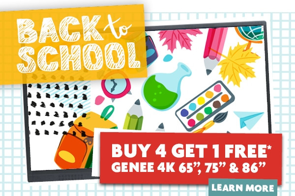 Amazing Genee Back To School Offer